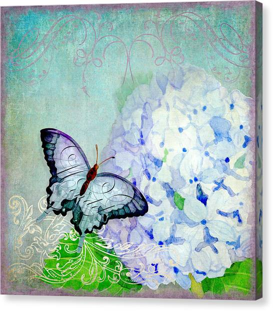 Printers Canvas Print - Hydrangea Dreams by Audrey Jeanne Roberts