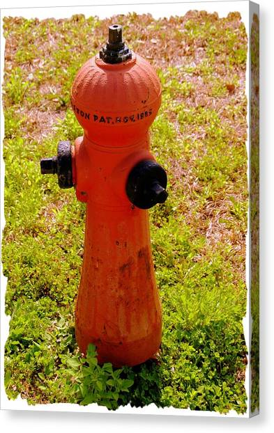 Hydrant 1885 Canvas Print by Andrew Armstrong  -  Mad Lab Images
