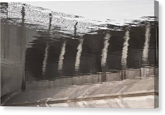 Hydro Dam Number One Canvas Print by Michael Rutland