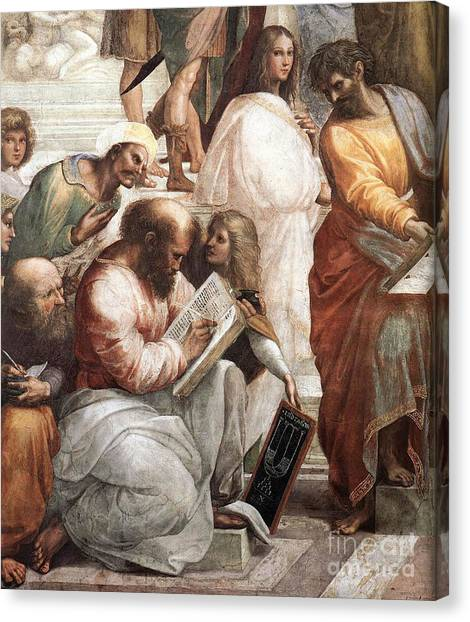 Notable Canvas Print - Hypatia Of Alexandria, Mathematician by Science Source
