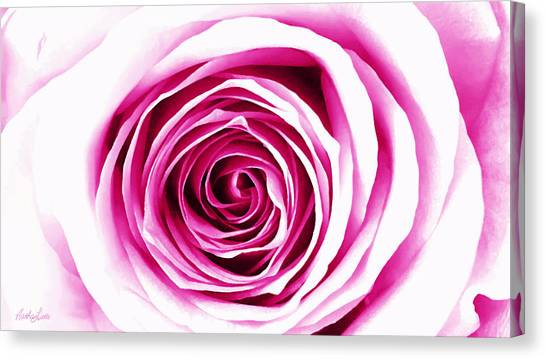 Hypnotic Pink Canvas Print