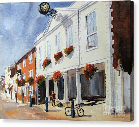 Hythe Town Hall Canvas Print