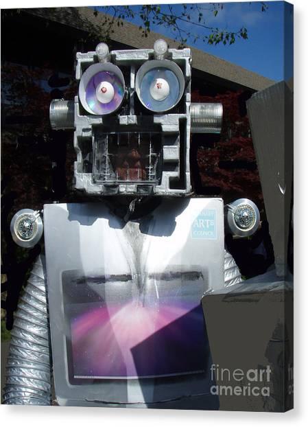 I - Robot Canvas Print