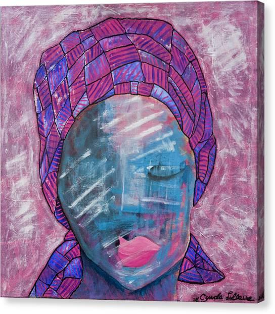 I Am A Survivor Canvas Print by Cynda LuClaire