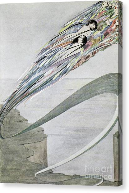 Tornadoes Canvas Print - I Am Born Of A Thousand Storms, And Grey With The Rushing Rains by Harry Clarke