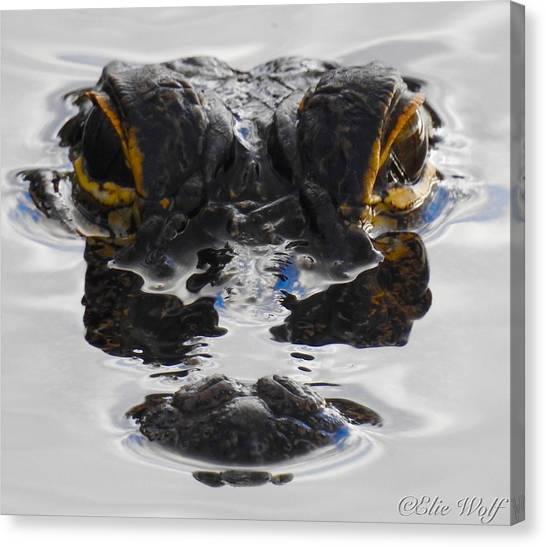 I Am Gator Canvas Print