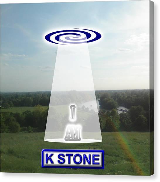 Canvas Print - I Am by K STONE UK Music Producer