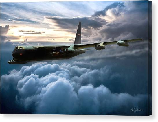 Linebackers Canvas Print - I Am Legend B-52 by Peter Chilelli