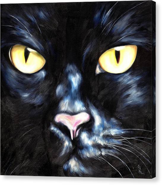 I Am Night Canvas Print