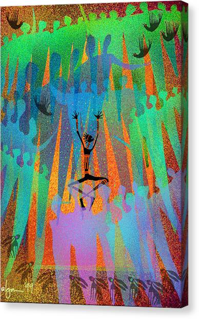 I Am Not Alone Canvas Print