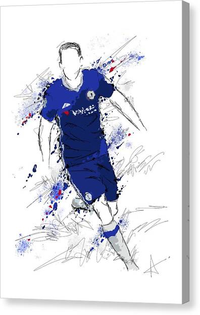 I Am Royal Blue Canvas Print