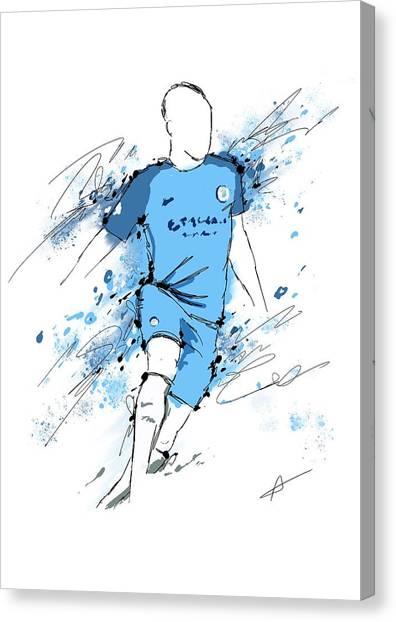 I Am Sky Blue #2 Canvas Print