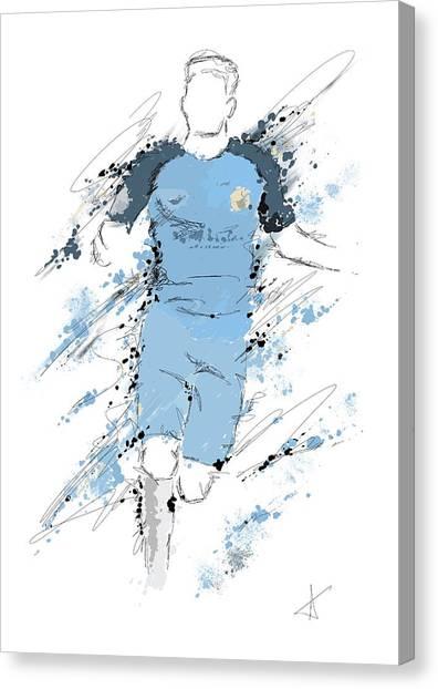 I Am Sky Blue Canvas Print