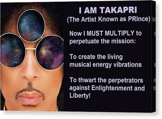 I Am Takapri Canvas Print
