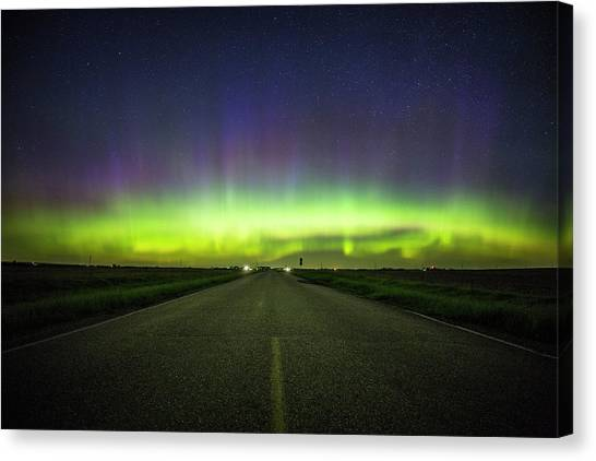 67 Canvas Print - I Am The Highway by Aaron J Groen