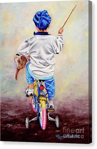 I Am The King Of The World 1 - Yo Soy El Rey Del Mundo 1 Canvas Print