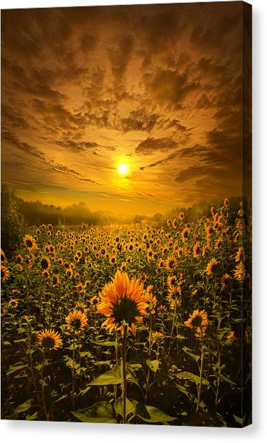 I Believe In New Beginnings Canvas Print