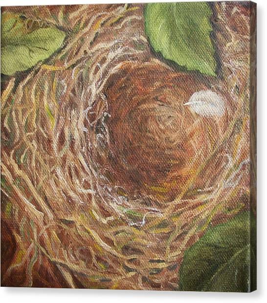 I Built You A Nest Canvas Print