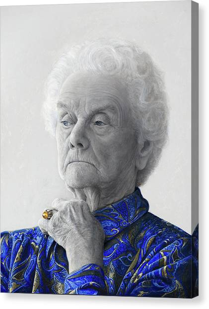 Mvc Canvas Print - I Call Her Rachel by Mark Van crombrugge