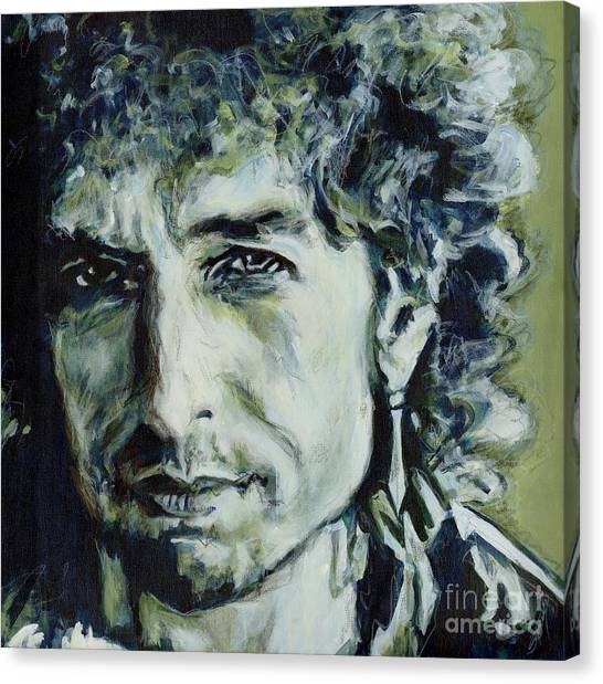 I Could Hold You For A Million Years. Bob Dylan Canvas Print