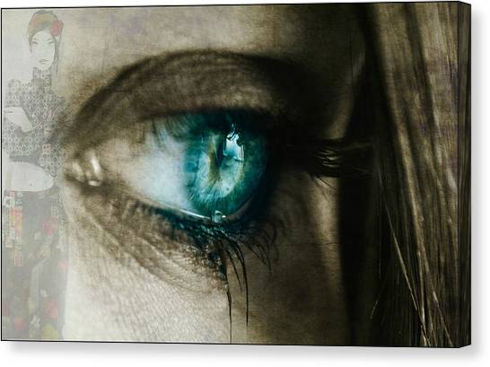 Tear Canvas Print - I Cried For You  by Paul Lovering