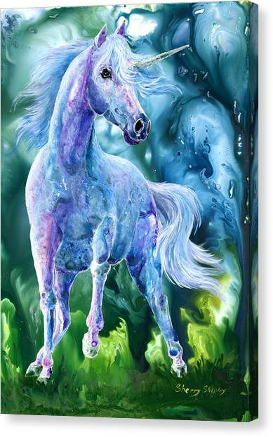 I Dream Of Unicorns Canvas Print