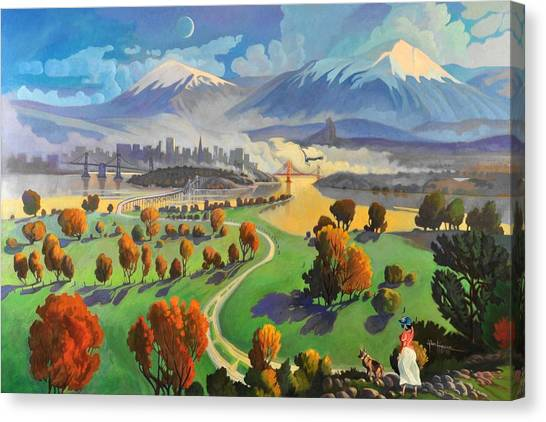 I Dreamed America Canvas Print