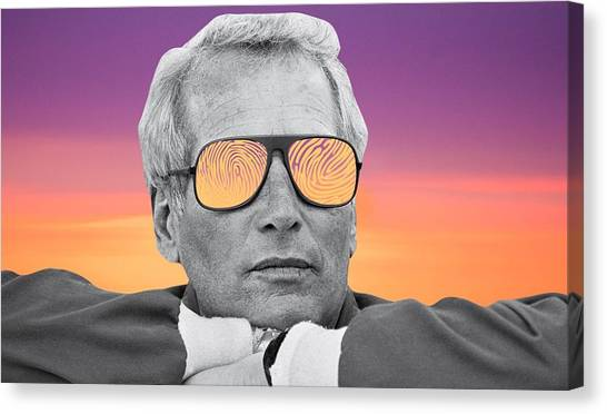 James Madison University Jmu Canvas Print - I Feel Like A New Man Paul by Matt Jarrels