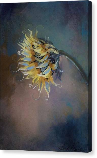 I Feel Like A Sunflower Painting Canvas Print