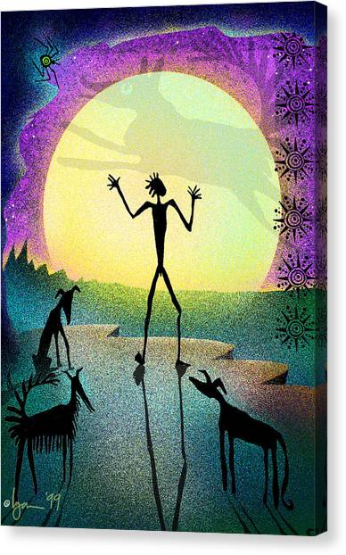 I Foresee A New Friend Canvas Print