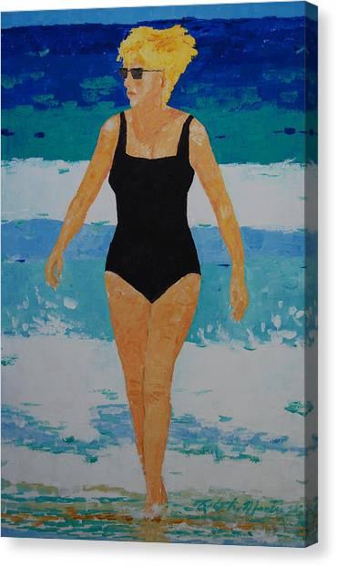 I Got A Woman Canvas Print