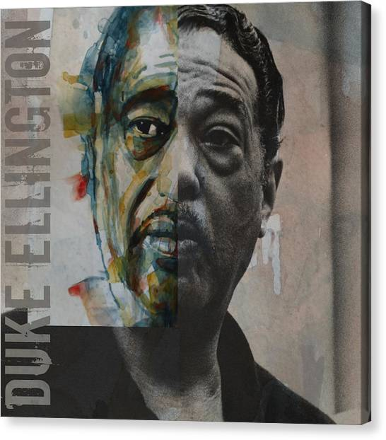 Duke University Canvas Print - I Got It Bad And That Ain't Good by Paul Lovering