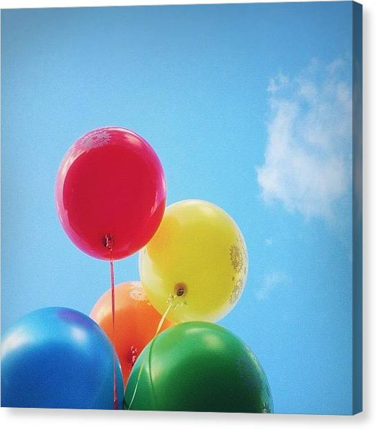 Rainbows Canvas Print - I Got Sunshine On A Cloudy Day by Mick Hunt