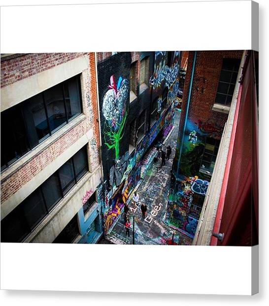 Victoria Falls Canvas Print - I Have A Few More Of These Hosier Lane by Owen Hedley Photography