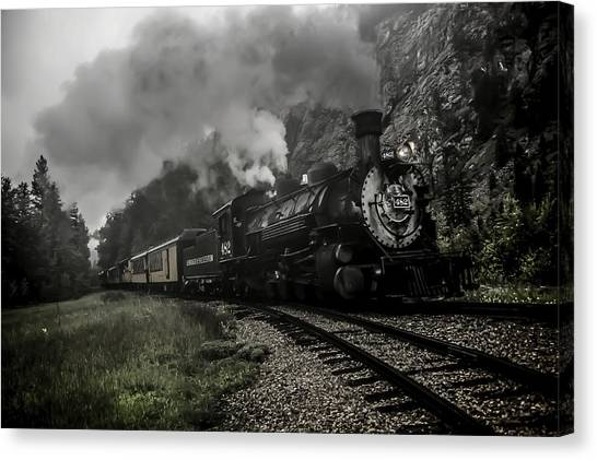 I Hear The Train A Comin' Canvas Print