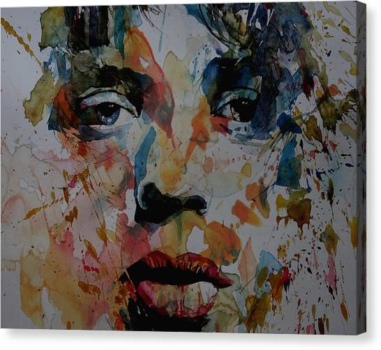 Rolling Stones Canvas Print - I Know It's Only Rock N Roll But I Like It by Paul Lovering