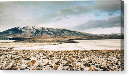 Tundras Canvas Print - I Like That There Is Nothing by Priska Wettstein