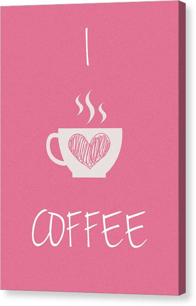 Coffee Plant Canvas Print - I Love Coffee by Mark Rogan