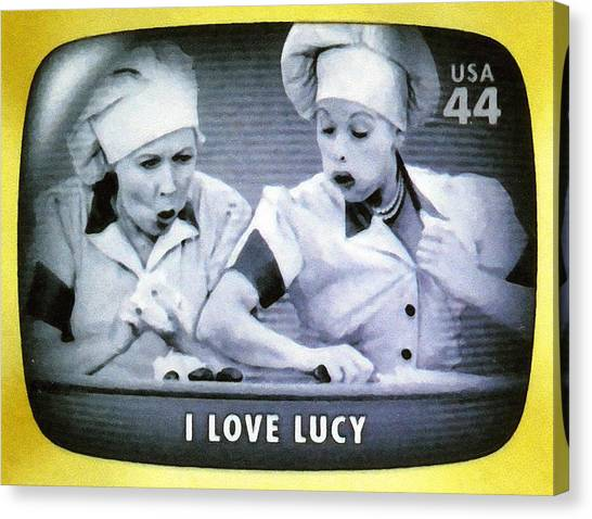 I Love Lucy Canvas Print
