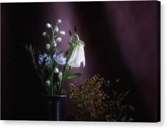 Bloom Canvas Print - I Once Was Beautiful by Tom Mc Nemar