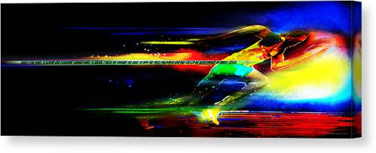 I Press On -1 Canvas Print