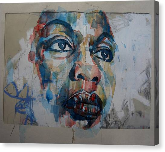 Rights Canvas Print - I Put A Spell On You - Nina Simone  by Paul Lovering