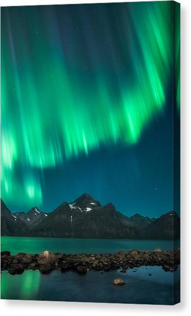 Aurora Borealis Canvas Print - I See Fire by Tor-Ivar Naess
