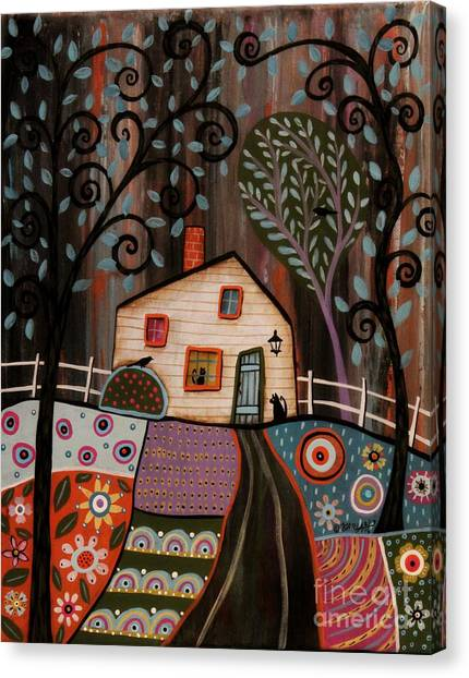 White House Canvas Print - I See You by Karla Gerard