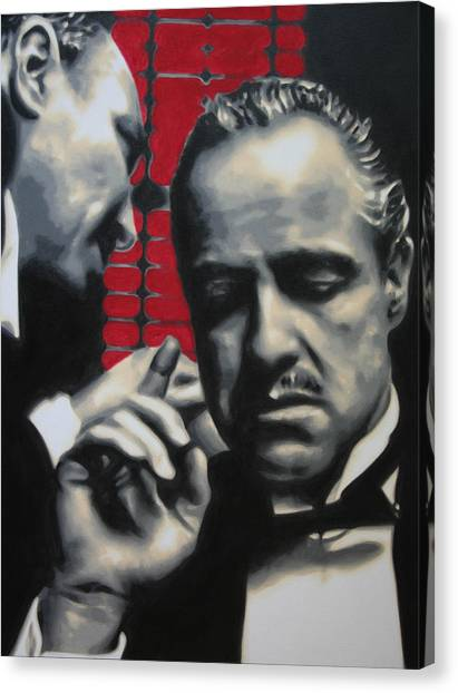 I Want You To Kill Him 2013 Canvas Print
