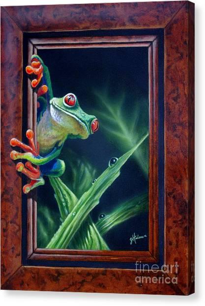 'i Was Framed' Canvas Print
