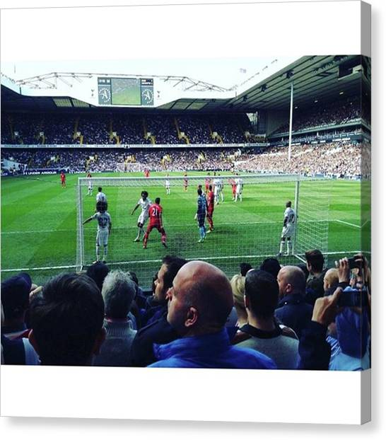 Spurs Canvas Print - I Watched Gareth Bale's Goal. #tbt by Y K