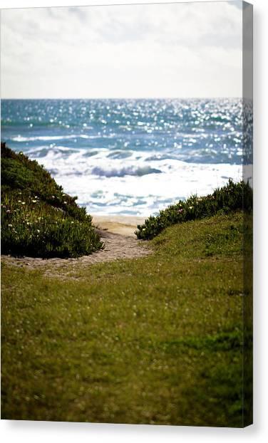 I Will Follow - Ocean Photography Canvas Print
