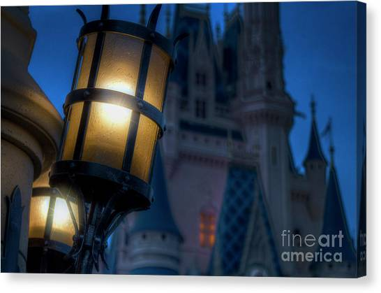 I Will Leave The Light On Canvas Print