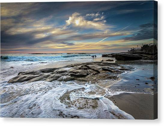 Surf Lifestyle Canvas Print - I Wish by Peter Tellone